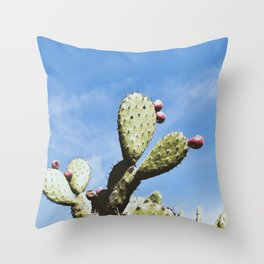 Prickly pairs Throw Pillow