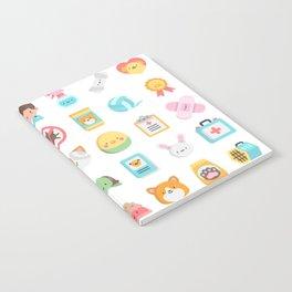 CUTE VET / VETERINARIAN PATTERN Notebook