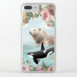 Seaing is Believing Clear iPhone Case