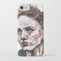 depeche mode iPhone & iPod Cases featuring Mode by Meredith Mackworth-Praed