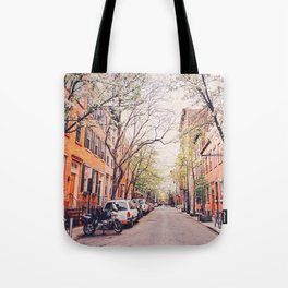 New York City - Springtime in the West Village Tote Bag