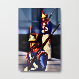 Guard_Brasilia Metal Print