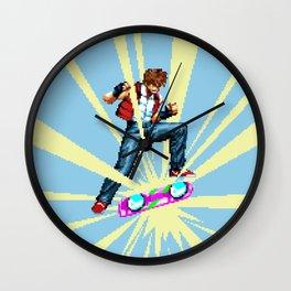 The most epic kickflip Wall Clock