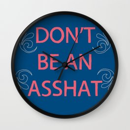 Life Lesson #1 Wall Clock