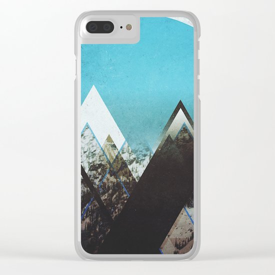 Fractions B23 Clear iPhone Case