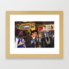 Who's Your Master? Framed Art Print