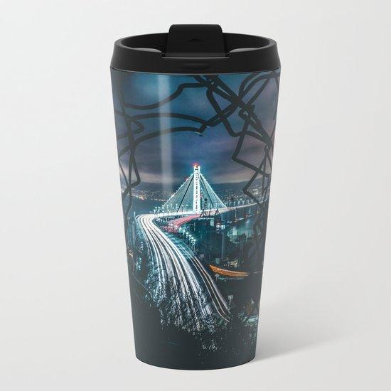 City Glow Metal Travel Mug