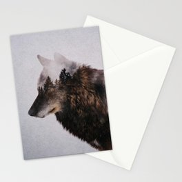 Canis Lupus Stationery Cards