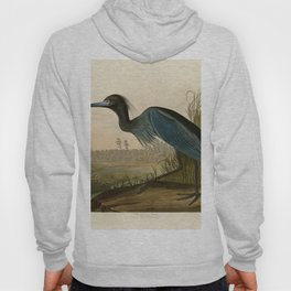307 Blue Crane or Heron Hoody