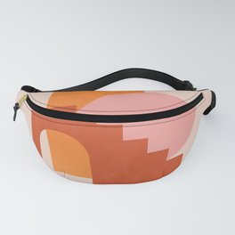 Abstraction_SHAPES_COLOR_Minimalism_003 Fanny Pack