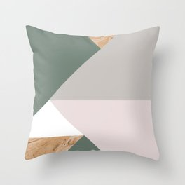 KALEIDOS #1 Throw Pillow