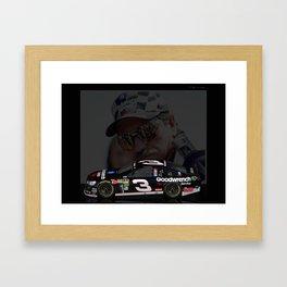 Dale Earnhardt 2013 Framed Art Print