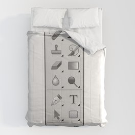 Photoshop Tool Box Comforters