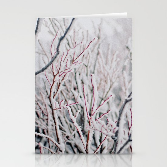 Winter Snow  Stationery Cards