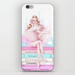 Fashion nerd iPhone Skin