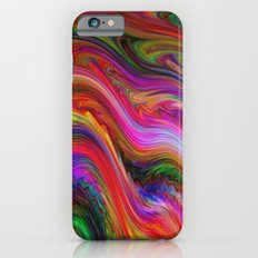 Smeared Rainbow Slim Case iPhone 6s