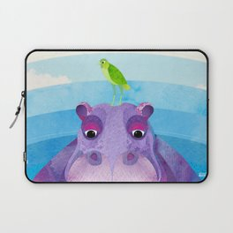 Betty & Ralph the Hippo and Bird Laptop Sleeve