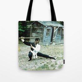 The Swordsman Tote Bag