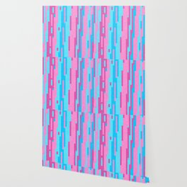 Pink and Blue abstract Wallpaper