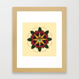 Mandala  Framed Art Print
