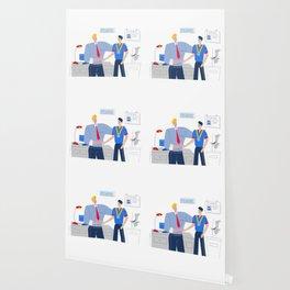 Boss Rewarding Employee Wallpaper