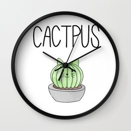 Catcpuss Wall Clock