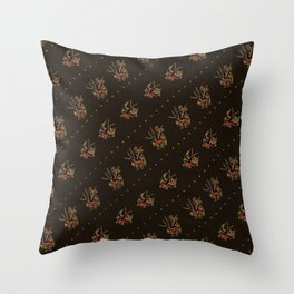 Sparrow tattoo pattern - rockabilly sparrow - vintage sailor tattoos - retro pattern Throw Pillow