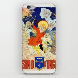 1890 Casino Enghien France iPhone Skin