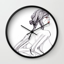 Bride of Dracula Wall Clock