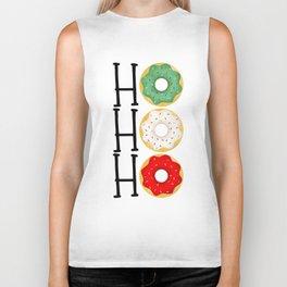 Ho Ho Ho - Holiday Donuts Biker Tank