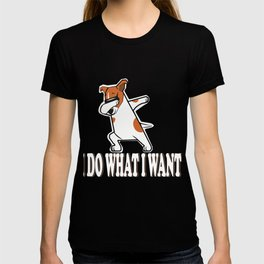 Jack Russel Funny Graphic Gift For Dog Owners And Pet Lover T-shirt