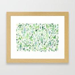 Plant Spirits Framed Art Print