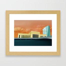 30th St Station - Philadelphia Framed Art Print