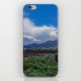 The Bridger Mountains, Outside Bozeman, Montana iPhone Skin