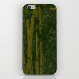 Bamboo jungle iPhone Skin