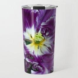 Purple Parrot Tulips of Keukenhof Travel Mug