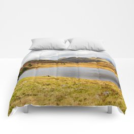 Blea Tarn in the English Lake District Comforters