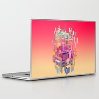 building Laptop & iPad Skins featuring Building Clouds by FalcaoLucas
