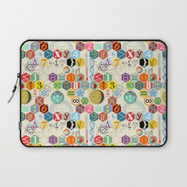 Math in color (little) Laptop Sleeve