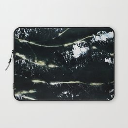 Black Scarf Design Laptop Sleeve
