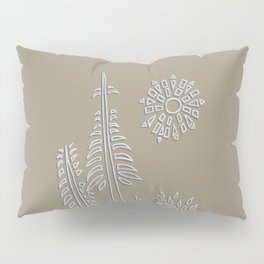 Forest Bathing - Taupe  Pillow Sham