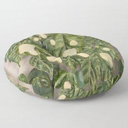 Foliage I Floor Pillow