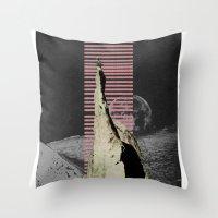 meditation Throw Pillows featuring meditation by Ashley Moye