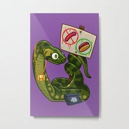 Anaconda Buns Metal Print