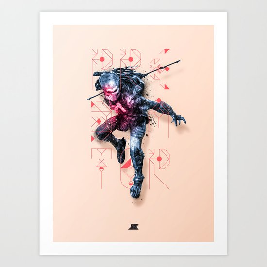 Heroes and Villains Series 2: Predator Art Print