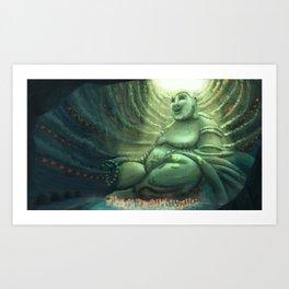 Monk's Cenote Art Print