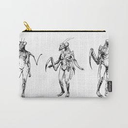 Mantis Sisters Carry-All Pouch