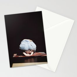 Selfportrait | She was made of sunlight Stationery Cards