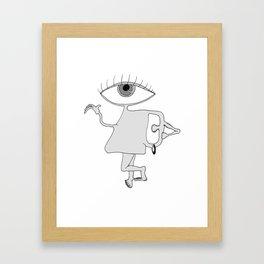 Mr. Ear Framed Art Print