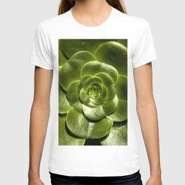 Green leave T-shirt